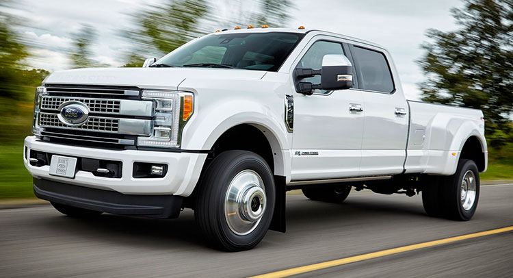 2017 Ford F Series Super Duty With Aluminum Body Photos And Review