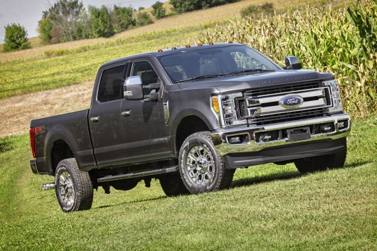 2017 Ford F-Series Super Duty with aluminum body