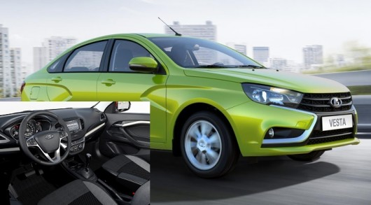 Lada West Saloon: Production started [photo]