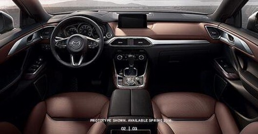 Mazda CX-9: Photos of the premiere