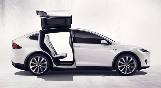 Supported Tesla Model X at a price more expensive than the new