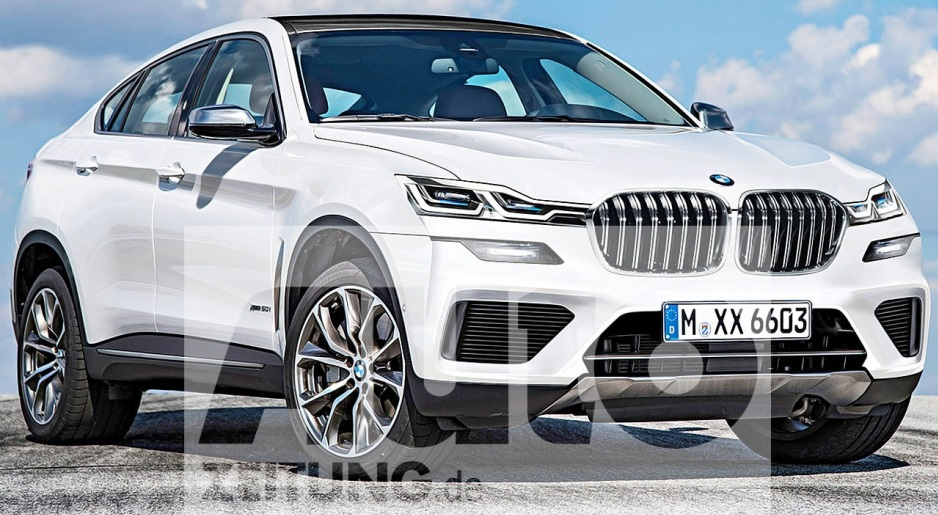 This BMW X6 will appear in 2021