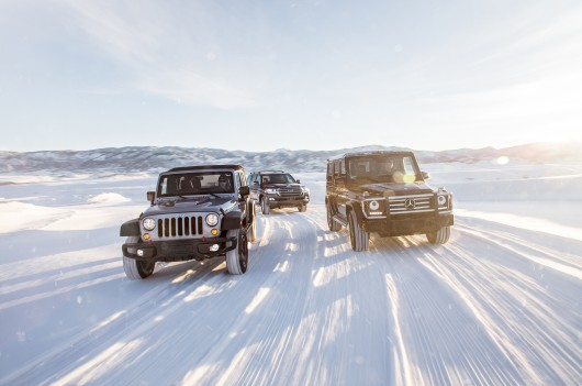 JEEP WRANGLER UNLIMITED RUBICON vs MERCEDES BENZ G550 vs. TOYOTA LAND CRUISER: Test drive
