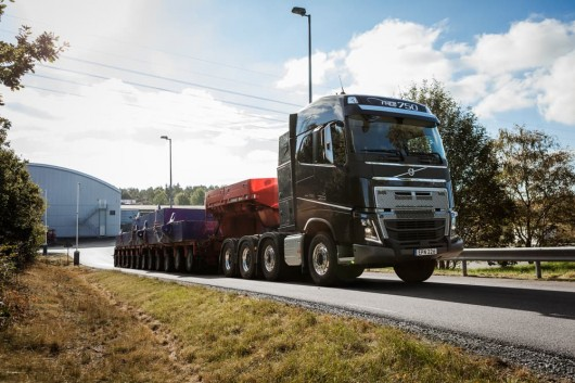 The new gearbox Volvo is able to move 750 tons of cargo