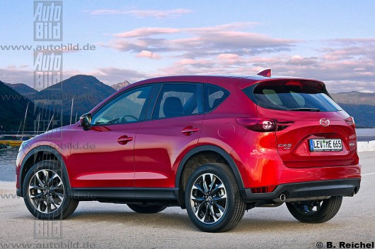 2017 new Mazda CX-5, will soon be a facelifted version