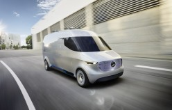 Mercedes showed a concept electric microbus of the future