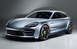 2017 Porsche Panamera debut in the station wagon