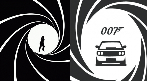 All the cars of James bond from 1962 to 2015