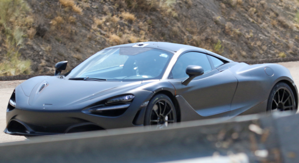 The first unofficial photos of the McLaren P14