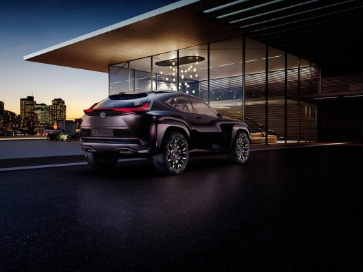 Lexus has published photos of a new concept -