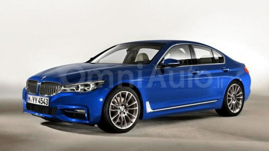 2017 BMW 5-Series, the first photo without camouflage