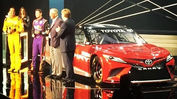 Car NASCAR revealed the design of the 2018 Toyota Camry?