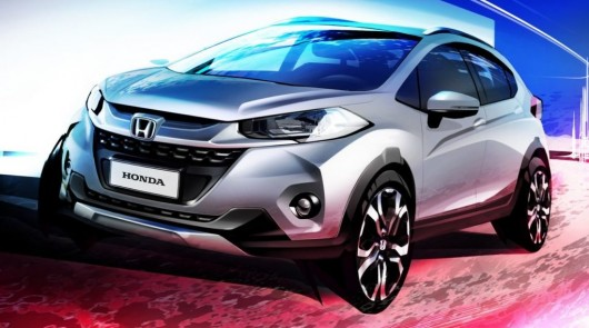 The first images of the new compact crossover Honda WR-V