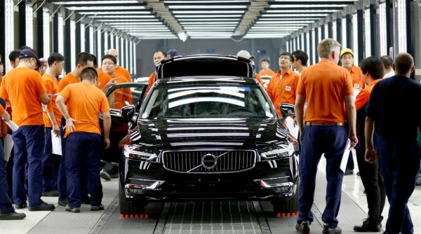 All the Volvo S90 sedan will be assembled in China