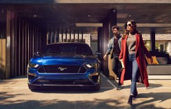 Ford introduced a restyled version of the Mustang for the 2018 model year