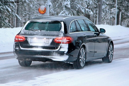The first photos of the updated universal Mercedes-Benz C-Class