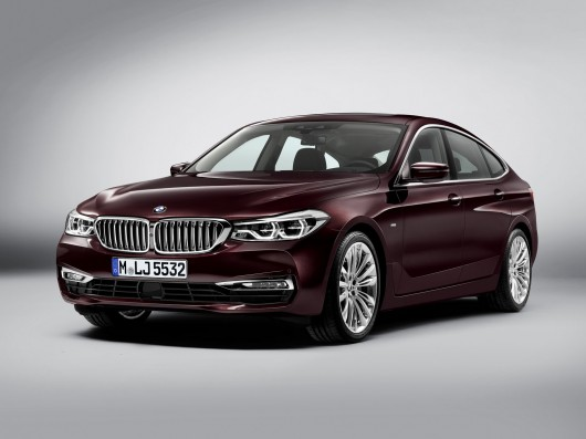 Shows the new BMW 6-Series GT [Photo]