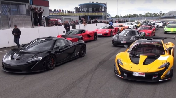 Video: enjoy the sound and most beautiful supercars