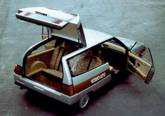 This concept car from Volvo of the past was much cooler than the Toyota Prius