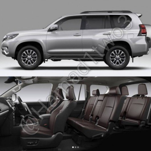 Land cruiser Prado, the first quality pictures of the popular SUV Toyota