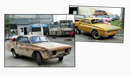 As Russian engineers built a sports car, which it was impossible to buy in the USSR
