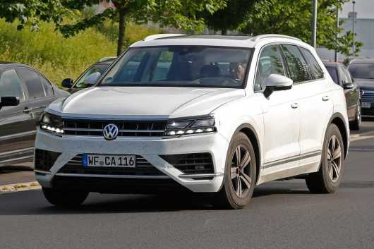 2018 Volkswagen Touareg: exclusive photos and technical details