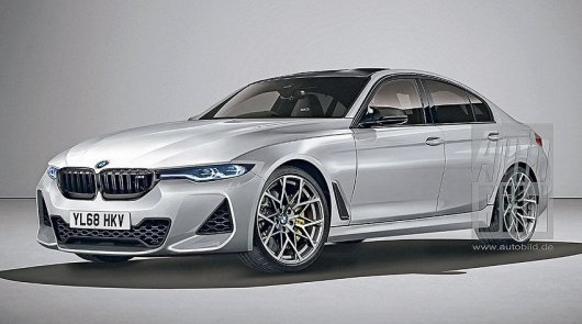 First information about the new BMW M3 2020