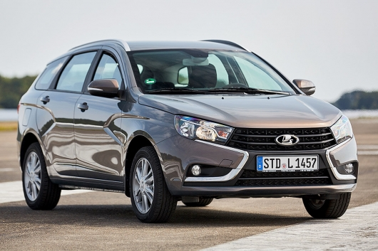The Germans overlooked the universal Lada Vesta SW: the conclusion was strange