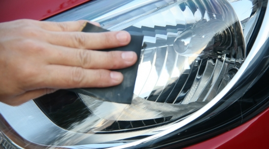 Headlight polishing yourself (Inexpensive option)