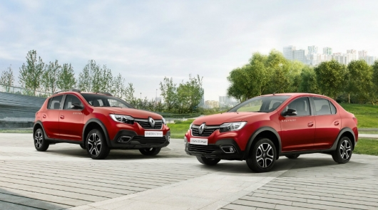 Renault introduced the SUV based on the Logan