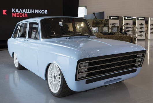 Five things you need to know about electric IZH-Kombi from Kalashnikov