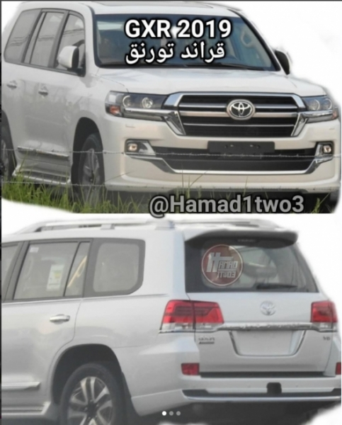 For Toyota Land cruiser preparing a new restyling in 2019 [Photo]