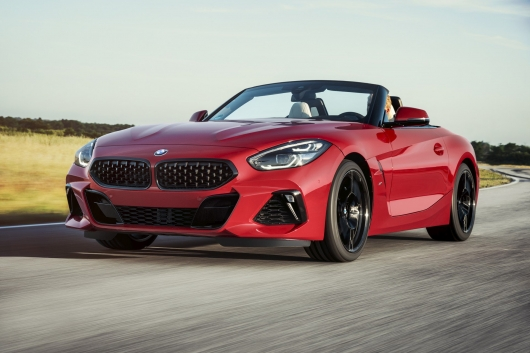 The 2019 BMW Z4 Roadster revealed officially