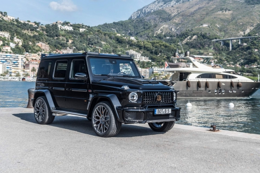 The new Brabus 700 Widestar: that's what the aftermarket G-class new generation