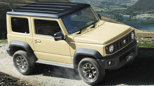 Suzuki Jimny will come to Russia in the spring of 2019