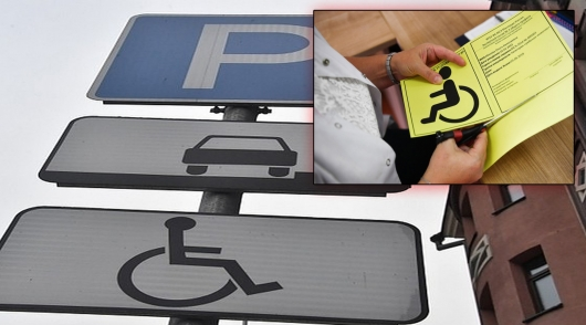 Began issuing new plates for disabled drivers