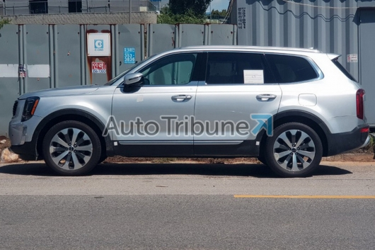 2019 Kia Telluride: the large SUV is completely without camouflage