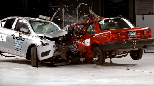 Another scandal in the auto industry: crash tests