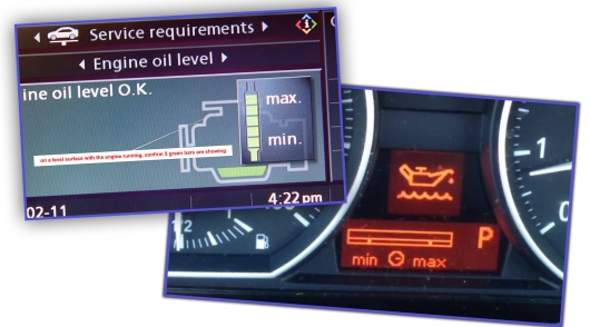 That's why the bulb of pressure of oil on the dashboard will not save you from engine damage if the oil level is low