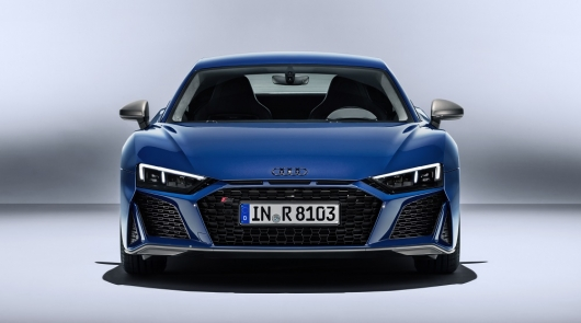 2019 updated Audi R8 in the back: more power and better handling
