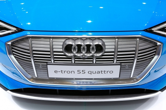 Audi e-Tron electric SUV, which is better than Tesla Model X