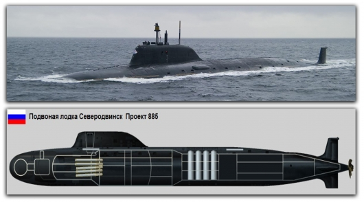 That's why Russian submarines cause the Americans the horror