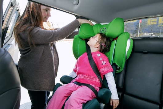 7 mistakes when transporting children in the car