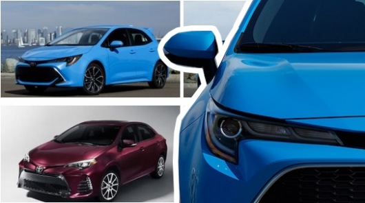 New Toyota Corolla sedan: coming soon