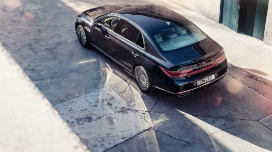The official premiere restyled 2020 Genesis G90
