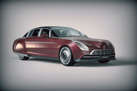 The Russian designer has created an amazing model of the bygone Soviet limousine