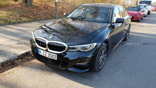 2019 BMW 3 Series spotted on the street in Germany: the First photos in the city