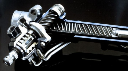 What is rack and pinion steering in simple words