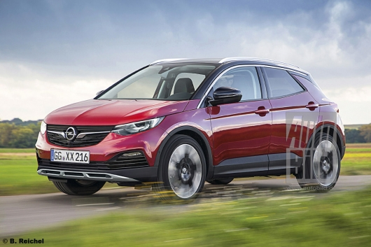 Here are some new models Opel will be released in 2019, 2020 and 2021