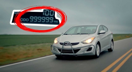 To drive 1.6 million miles on the Hyundai Elantra is really